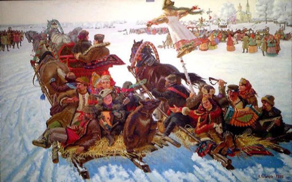 Русские традиций приготовления блинов