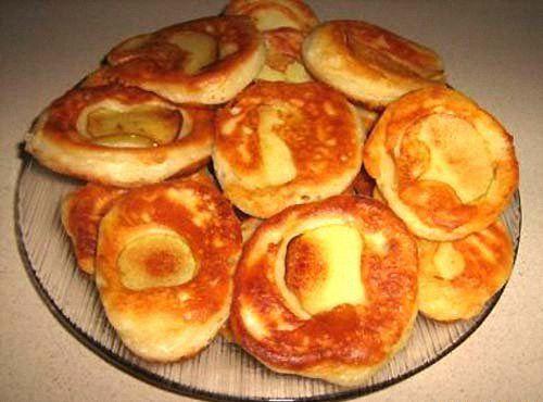 Летние оладьи с яблоками рецепты