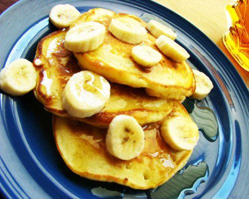 Оладьи с бананом рецепты