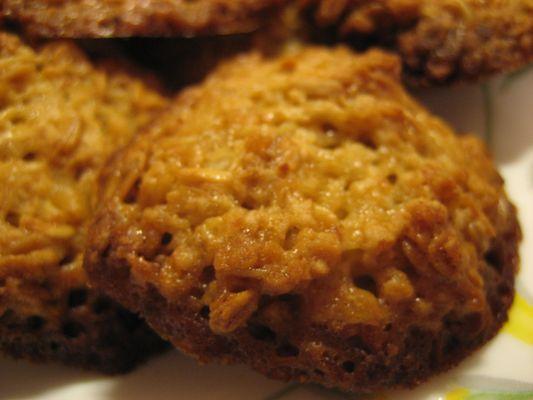 Овсяное печенье с медом рецепт