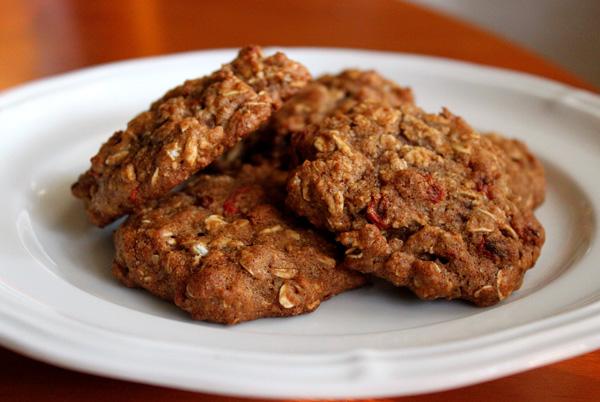 Приготовление диетического овсяного печенья