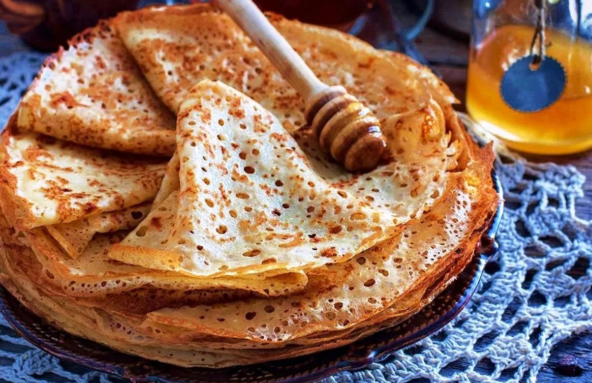 Вкусные блинчики без молока: замешиваем тесто на воде