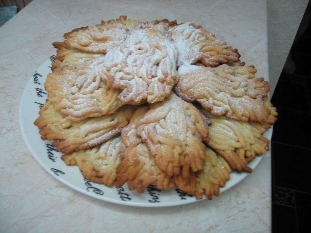 Классическая рецептура печенья из творога Гусиные лапки